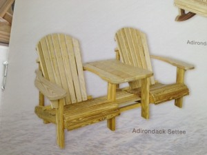 Slideshow Image - Pressure Treated Settee