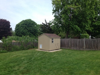 Slideshow Image - Shed Converted in K9 kennel.